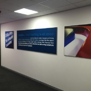 Swift Displays tenstyle wall display
