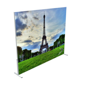 Swift Displays tenstyle banner wall / stand