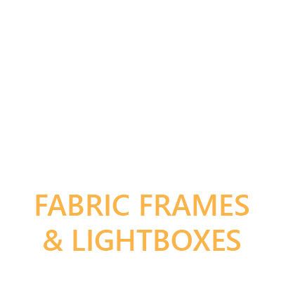 Fabric frames & lightboxes