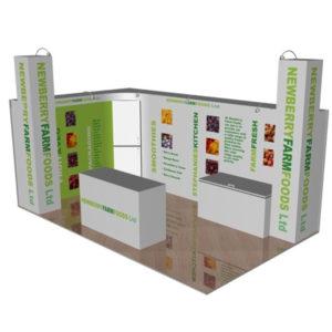 Swift Displays exhibition renders