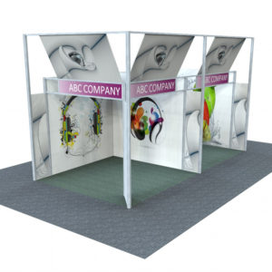 Swift Displays exhibition renders