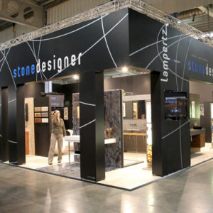 Swift Displays T3 Exhibition Systems with Rigid Cladding