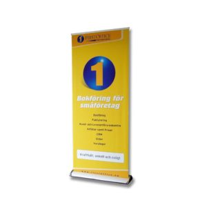 Swift Displays classic roller banner