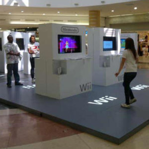 Swift Displays T3 Exhibition Systems with Fabric Cladding
