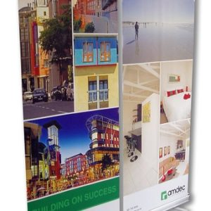 Swift Displays promo roller banner