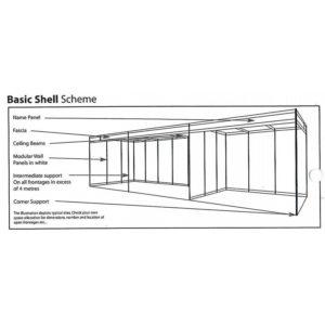 Swift Displays Tenstyle Shell Scheme Cladding