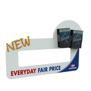 Swift Displays cut outs & standee