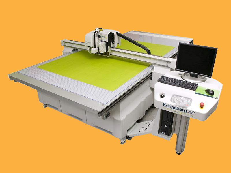 Swift Displays Kongsberg Large Format Cutter